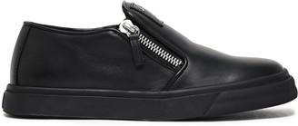 Giuseppe Zanotti Eve Leather Slip-on Sneakers