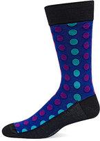 Hot Sox Ombre Dots Crew Socks