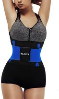 Dilanni Womens Adjustable Waist Trimmer Belt Stomach Body Wrap Protecting Stretchy Back Lumbar Support Waistband ROSE