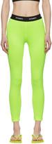 Vetements Yellow Jersey Leggings