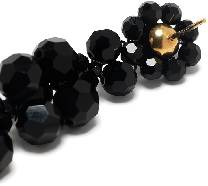 Thumbnail for your product : Simone Rocha Beaded Drop Earrings