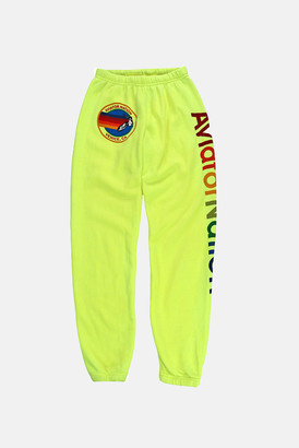 Aviator Nation Neon Yellow Sweatpants