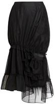Simone Rocha Twisted Tulle Mermaid Midi Skirt