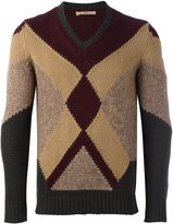Nuur geometric pattern pullover