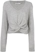 Alexander Wang twist front sweater - women - Cashmere/Wool - XS