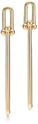 Tiffany & Co. City HardWear double long link earrings in 18k gold