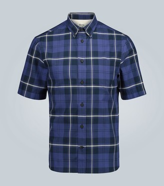 Acne Studios Sarkis Waffle short-sleeved shirt