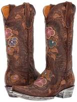 Old Gringo Pansy Cowboy Boots