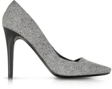 Proenza Schouler Dragonfly Black and White Print Suede Pump