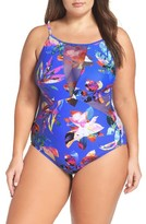 LaBlanca Plus Size Women's La Blanca Havana Mio One-Piece Swimsuit