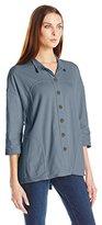 Neon Buddha Women's Blue Moon Shirt