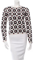 J.W.Anderson Cashmere & Wool Floral Sweater