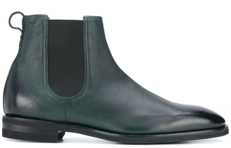 Bally burnished Chelsea boots