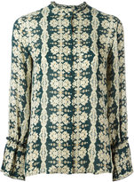 Etro printed blouse - women - Silk - 42