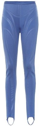 Thierry Mugler Stirrup compression leggings