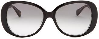 Diane von Furstenberg 57mm Blaise Oversized Sunglasses
