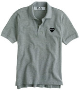 Comme des Garcons PLAY polo shirt in grey