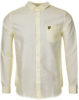 Lyle & Scott Oxford Shirt Yellow
