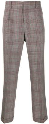 Calvin Klein check trousers