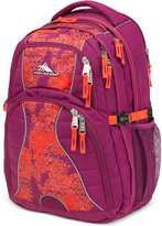 High Sierra Swerve Backpack in Berry Blast