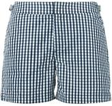 Orlebar Brown gingham check swim shorts