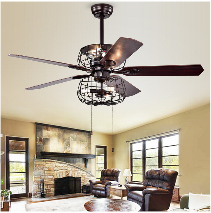 Thumbnail for your product : Safavieh Erving Ceiling Light Fan