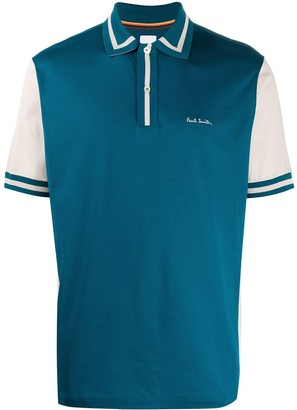 Paul Smith Two-Tone Polo Shirt