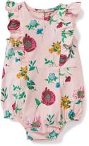 Old Navy Floral Bubble Romper for Baby