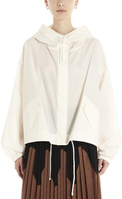 Jil Sander Oversized Hooded Rain Jacket