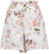 Zimmermann 'Eden' floral embroidered shorts - women - Cotton - 8