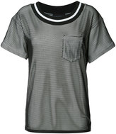 Moschino sheer layered mini dress - women - Cotton - 38