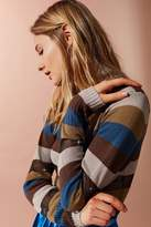 Urban Outfitters Kassi Striped Turtleneck Sweater