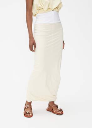 Marni Gathered Hem Long Skirt