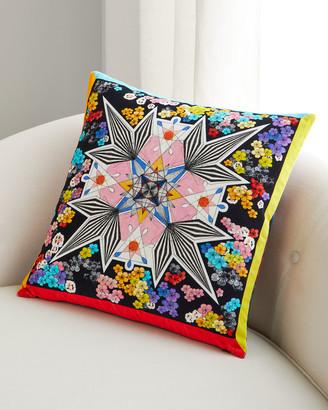 Christian Lacroix Flowers Galaxy Pillow