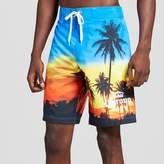 Corona Men's Palm Trees Sunset Board Shorts - Corona®