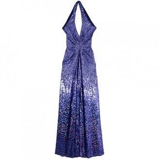 Jenny Packham Blue Silk Dress for Women