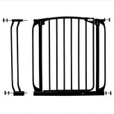 Dream Baby Swing Closed Security Gate Combo - Black by Dreambaby