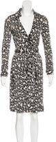 Diane von Furstenberg Silk Jeanne Light Dress