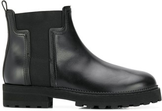Tod's Panelled Ankle Boots