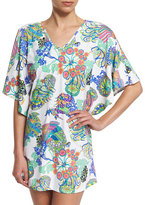 Trina Turk Finding Dory Printed Tunic Coverup