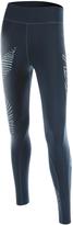 2XU Ombré Blue & Luminescent Hyoptik Mid-Rise Leggings