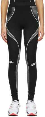 Off-White Black Seamless Leggings