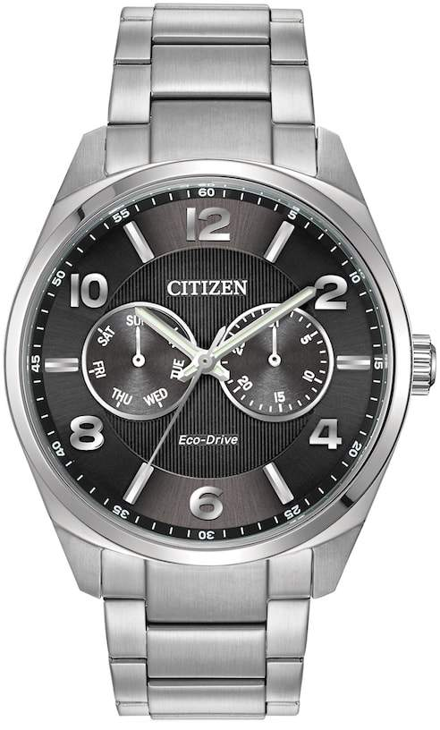 Citizen Men's Eco-Drive Stainless Steel Dress Watch - AO9020-84E