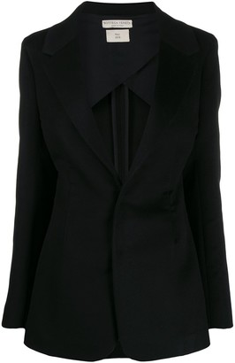 Bottega Veneta Deep V-Neck Blazer