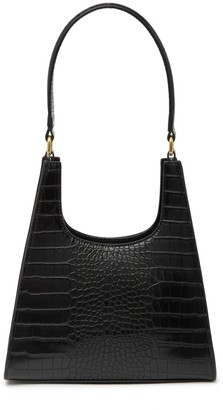 Most Wanted Design by Carlos Souza Crocodile Embossed Chic Shoulder Bag