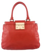 Tory Burch Leather Holland Satchel