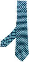 Kiton floral print tie - men - Linen/Flax - One Size