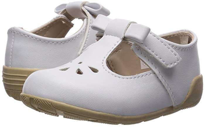 Baby Deer First Steps T-Strap with Cut Outs (Infant/Toddler)