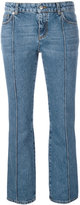 Alexander McQueen cropped flared jeans - women - Cotton - 38