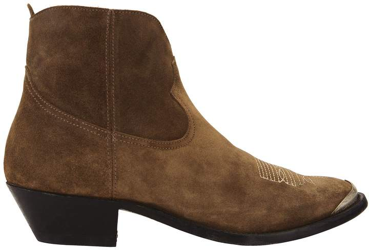 Golden Goose Young Western Suede Booties
